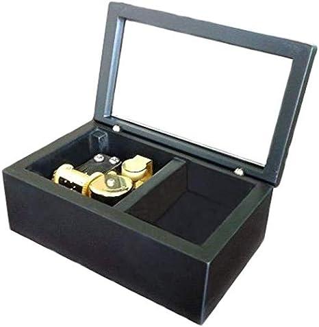 Recuadro 18 Notas a Cuerda Madera musical, tamaño pequeño de almacenamiento caja de música, regalo caja de música, animado El león duerme esta noche Tema Musical Box, con el Movimiento sobrerregulació: Amazon.es: