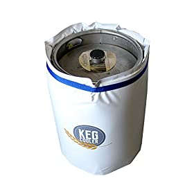 Powerblanket PBICEKEGIP Powerblanket Ice Keg Cooler, 1/2 Barrel Beer Keg Insulated Ice Pack Cooling
