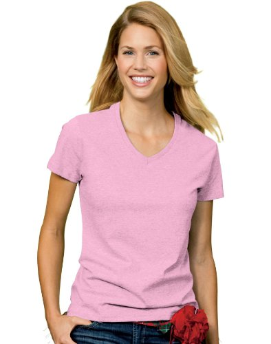 Hanes 5780 Relaxed Fit Women Comfortsoft V-Neck T-Shirt 3XL