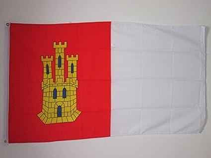 Amazon.com: Castilla-La Mancha Bandera Banderas de 3
