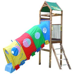 Amazon Com Kidwise Fantaslides Swing Set Squigles 8ft Slide Cover