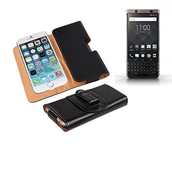 Bolso de la correa de cuero artificial para el Blackberry KEYone ...