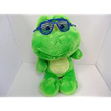 Build a Bear Workshop Jazzy Green Frog Plush Toy Animal 18 in.