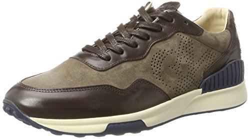 Marc O'Polo Herren Sneaker 70723733501301 Braun (Dark Brown)