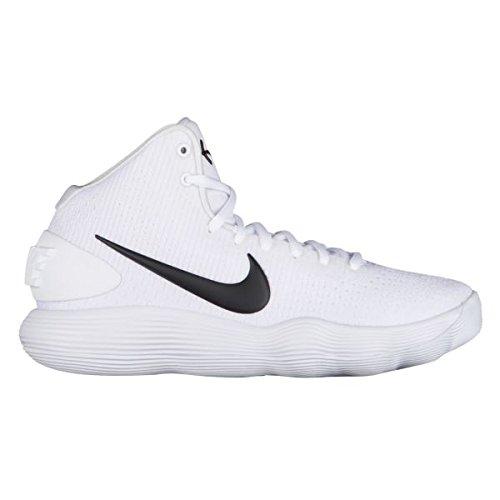 ぼろ投資軍(ナイキ) Nike React Hyperdunk 2017 Mid レディース バスケットボールシューズ [並行輸入品]