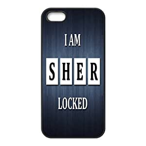 Cool Custom BBC TV Plays SHERLOCK ipod touch 5 ipod touch 5 Case Cover ,Rubber Shell Hard Back Cases For Fans At CBRL007