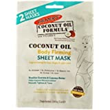 Palmer's Coconut Oil Body Firming Sheet Mask, 2 Single Use Masks (Pack of 2)