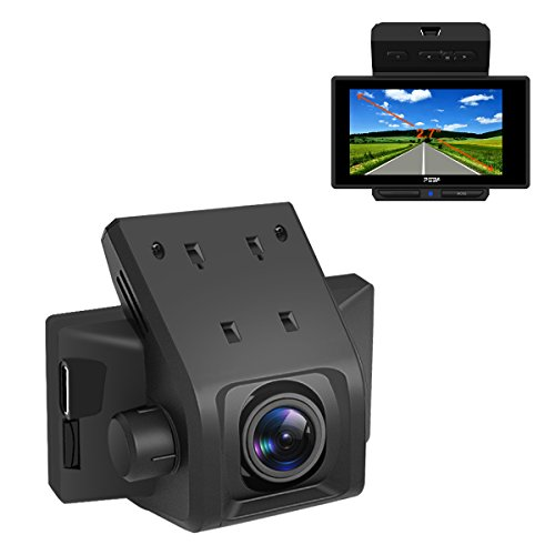 """Retract Cam - Dash Cam For Cars PEBA Full HD 1080P Dashboard Vehicle Camera with Night Vision,Parking Monitor,G-Sensor,HDR,Loop Recording,Motion Detection ,2.7"""",170 °Wide Angle"""