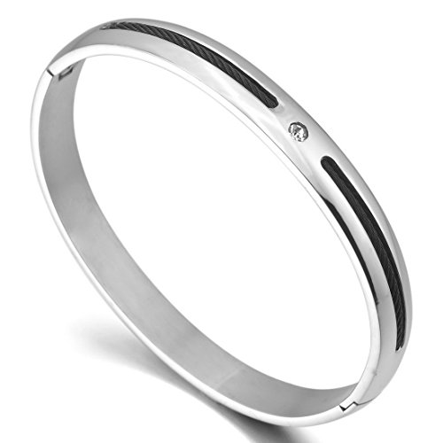 INBLUE Womens Stainless Bracelet Couples