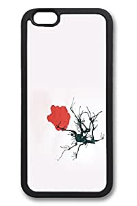 6 Plus Case iPhone 6 Plus Cases Tree Blossom TPU Back Cover Skin Soft Bumper Case for Apple iPhone 6 Plus