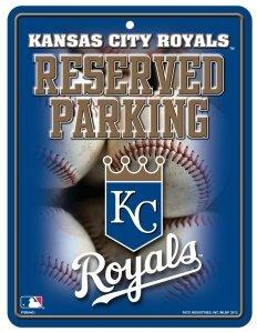 MLB Kansas City Royals Parking Sign