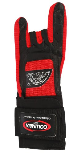 Columbia 300 Pro Left Wrist Glove, Red, Large by Columbia