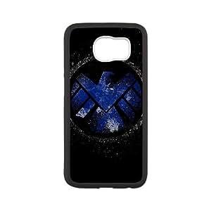 The Avengers Logo 001 funda Samsung Galaxy S6 Cubierta blanca del teléfono celular de la cubierta del caso funda EVAXLKNBC17027