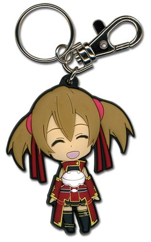 Great Eastern Entertainment Sword Art Online Happy Silica SD PVC - Pvc Sword Keychain