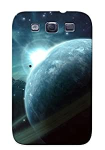 Premium Durable Ringed Planet Fashion Tpu Galaxy S3 Protective Case Cover
