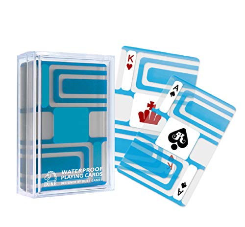 Transparent Playing Cards - Geometric Pattern