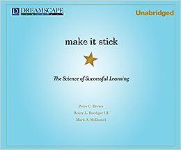 make it stick book