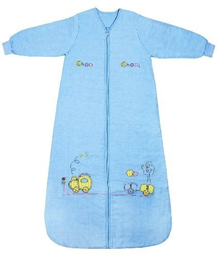 - Slumbersafe Winter Baby Slepping Bag Long Sleeves 3.5 Tog Choo Choo 18-36 mth/LARGE