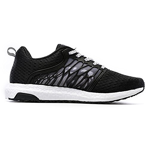 Onemix Respirant Maille Léger Extérieur Chaussures De Course Noir / Blanc