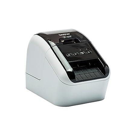 Bluetooth Compatibilit/à Airprint e Mfi DK22205 Etichette a Lunghezza Continua Brother QL820NWB Stampante per Etichette con Rete Cablata 62 mm x 30.48 m Carta Adesiva Bianco Wi-Fi