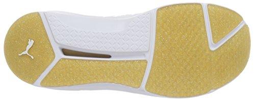 PUMA Frauen Fierce Gold Cross-Trainer Schuh Weißes Gold