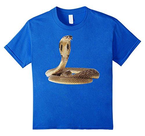 - Kids Cobra Snake T Shirt Tshirt for men women boys girls kids 8 Royal Blue