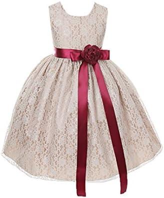 Cinderella Couture Elegant Champagne Flower