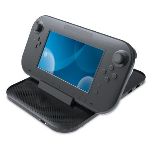 Wii U Concert Dock Pro w/Speaker BK Computers, Electronics, Office Supplies, Computing by dreamGEAR