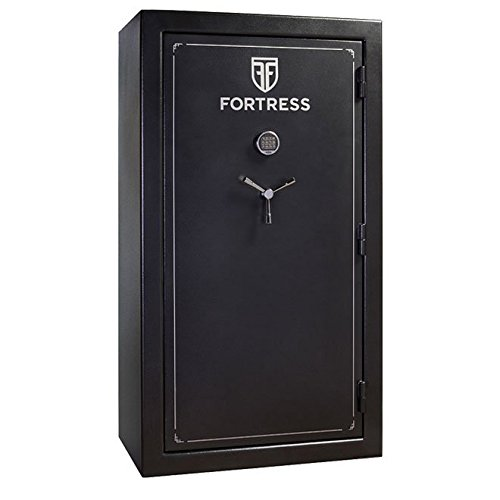 Fortress Heritage FS-60E Electronic Lock Safe, Black
