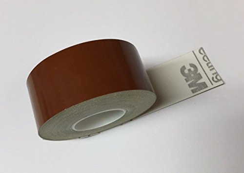 Brown Tape Plastic (Paper Street Plastics Reflective Tape (Brown, 1/2 inch x 25 ft))