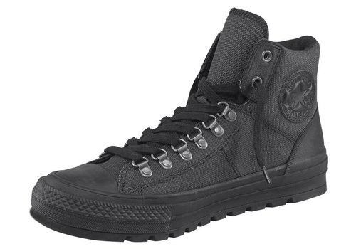 Converse Mens Boots - Converse Unisex Adult Leather Hi-top Boot (6 D(M) US) Black