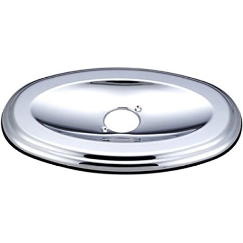 A1 Made To Match Oval Shower Face Plate, 13-Inch, Polished Chrome ()