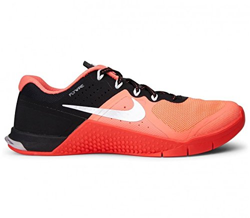NIKE Metcon 2 Women's Fitness Shoes Size US 9.5, Regular Width, Color Coral/Black by NIKE