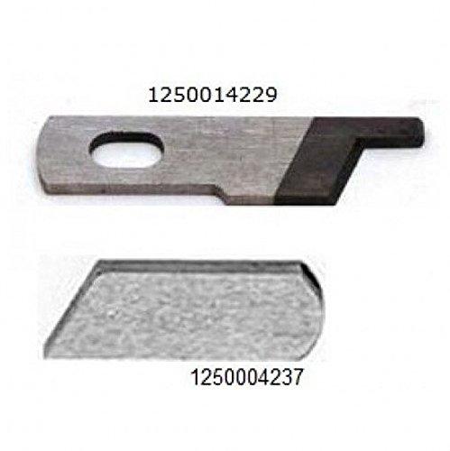 2PCS SET Upper & Lower Knife, Toyota, Viking, White #1250004237,#1250014229 (Serger Blade White compare prices)