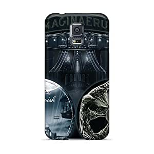 Protective Hard Phone Cover For Samsung Galaxy S5 With Support Your Personal Customized HD Nightwish Band Image JasonPelletier