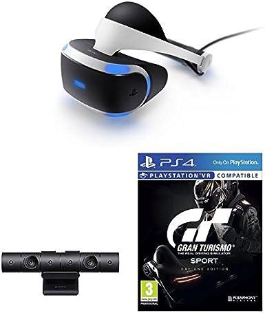 Sony - PlayStation VR Gran Turismo Sport Bundle: Amazon.es: Videojuegos