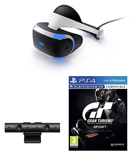 sony playstation vr gran turismo sport bundle. Black Bedroom Furniture Sets. Home Design Ideas
