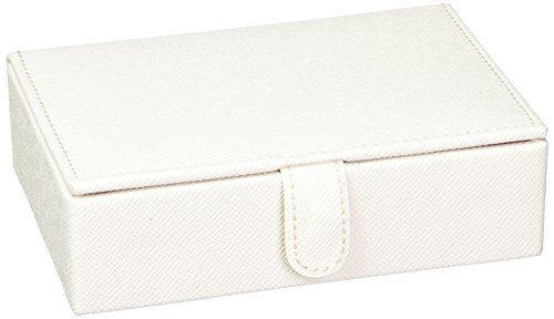 WOLF 286153 Brighton Travel Jewelry Box, Cream