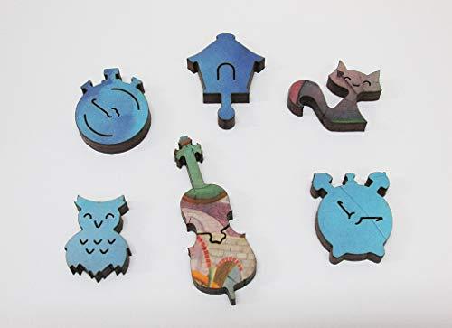 Artifact Puzzles - Tomasz Pietrzyk Cello Wooden Jigsaw Puzzle
