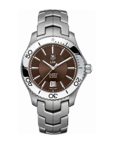 Authentic New Tag Heuer Link - TAG Heuer Men's WJ201D.BA0591 Link Automatic Stainless Steel Watch