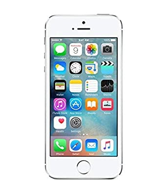 Apple iPhone 5S, AT&T, 16GB - Silver (Refurbished)