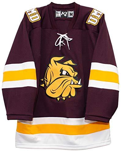 K1 Sportswear University of Minnesota Duluth Bulldogs 2018-19 Away Jersey (X-Large)