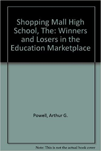 The Shopping Mall High School: Winners and Losers in the