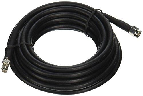 Wilson Electronics 10 ft. Black RG58 Low Loss Coax Cable (SMA Male to SMA ()