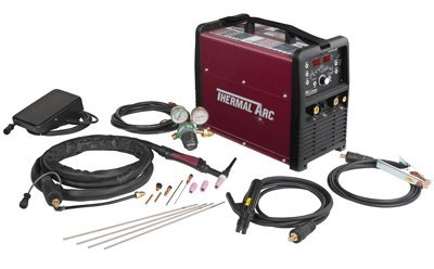 Thermal Arc W1006303 186 AC/DC Portable HF TIG System with Foot Pedal