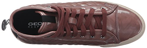 Geox Mujeres Wnewclub24 Zapato Para Caminar Old Rose
