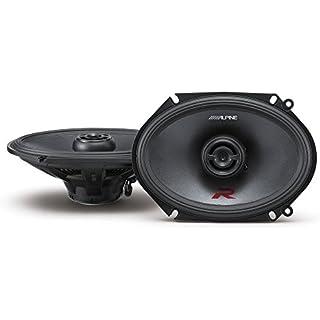 Sale Alpine R-Series 6 x 8 Inch 300 Watt Component 2-Way Car Speakers Pair R-S68
