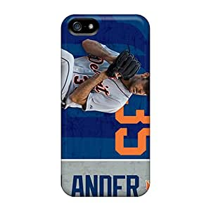 For PTl558eDlE Detroit Tigers Protective Case Cover Skin/iphone 5/5s Case Cover