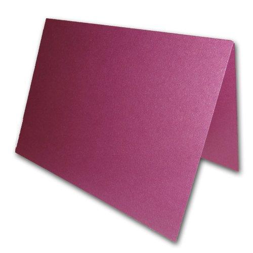 Blank Metallic Punch A2 Folded Invitatio - Metallic Folded Shopping Results