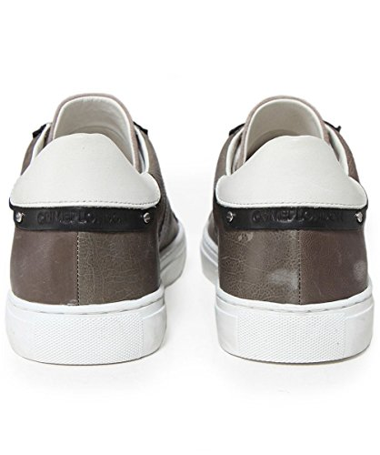 Crime London Men's Leather & Suede Beat Trainers Grey Grey cheap buy low price cheap big discount Y9e0U3VB